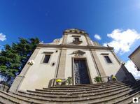 Chiesa Madre 1340, la facciata è del 1693   - Calascibetta (2382 clic)