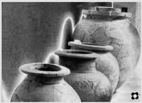 giare nel museo archeologico di Aidone (3078 clic)
