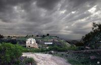 nel sito archeologico   - Morgantina (3446 clic)