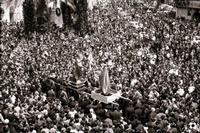 anni '60 Pasqua  quando l'incontro era previsto più vicino al Monumento dei Caduti-  - Modica (7082 clic)