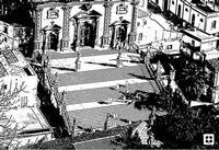 Modica, sagome in movimento n.22 di Enzo Belluardo (3354 clic)