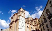 vista parziale del Palazzo Trigona e della Cattedrale   - Piazza armerina (2317 clic)