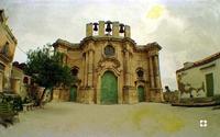 Buscemi '96, Chiesa di S. Antonio del XVII sec. (2816 clic)