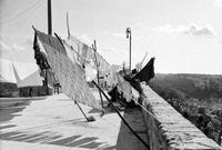 Pizzo '65, panni stesi e panorama parziale di Modica  MODICA Enzo Belluardo
