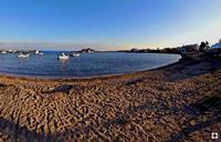 il porto e l'isola piccola   - Marzamemi (2084 clic)