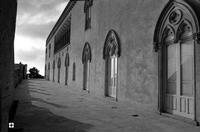 ombra e luce sulla terrazza   - Donnafugata (1781 clic)