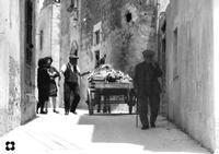 carretto verso San Giovanni, '65  MODICA Enzo Belluardo