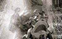 Fontana di Diana, particolare    - Siracusa (2135 clic)