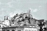 il Castello negli anni '60 dal balcone di casa mia   - Modica (5644 clic)