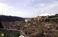 una panoramica dal Castello   - Modica (1350 clic)