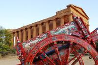 tempio sul carretto siciliano   - Agrigento (9790 clic)