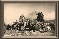 Momenti di aggregazione a Petralia Sottana negli anni '60  (4000 clic)
