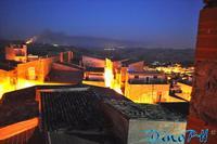 Cianciana  di notte   - foto Dino Vaccaro (5234 clic)