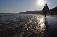 Spiaggia Eraclea Minoa - Foto Dino Vaccaro   - Cattolica eraclea (4497 clic)