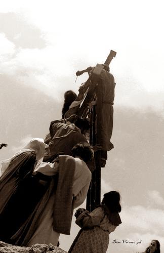 Venerdi Santo 1980 - Cianciana - Foto Dino vaccaro - CIANCIANA - inserita il 25-Aug-11