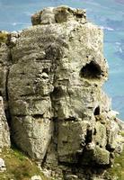 facce di pietra costone roccioso loc.pomo  - Castellana sicula (2123 clic)