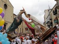 incontro pasqua incontro tra Cristo risorto e Maria  - Petralia sottana (5234 clic)