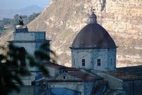 campanile e cupola   - Petralia sottana (2199 clic)