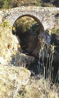 ponte di pietra   - Petralia sottana (530 clic)