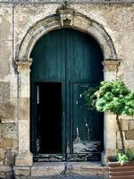 portale chiesa del rosario a petralia   - Petralia sottana (22 clic)
