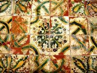 pavimento della chiesa  SAN BIAGIO PLATANI vincenzo macaluso