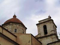 campanile e cupola   - Petralia sottana (2142 clic)
