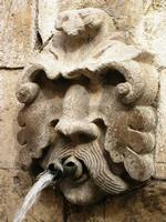 faccione di pietra -fontana  u canali   - Petralia sottana (3889 clic)