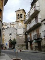 torre campanaria con orologi   - Petralia sottana (2305 clic)