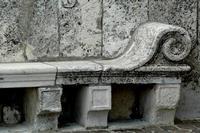 sedile di pietra   - Petralia sottana (561 clic)