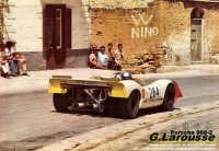 Larousse con la sua Porsche 908-2 nel 1969 impegnato nella curva del municipio di Campofelice di Roccella!  - Campofelice di roccella (10916 clic)