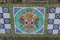 Caltagirone - Ponte S.Francesco - particolare decorazione (2449 clic)