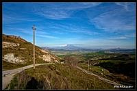 Lande  isolate country roads isolated ENNA maurizio mazzola