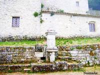 Eremo di Santa Rosalia - fontana   - Santo stefano quisquina (1900 clic)