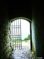 Eremo di Santa Rosalia - cancello   - Santo stefano quisquina (2647 clic)