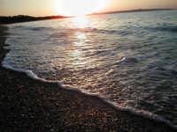 Mare Monforte Marina con sfondo su Milazzo  - Monforte marina (8237 clic)