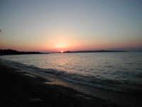 Tramonto Monforte Marina con sfondo su Milazzo  - Monforte marina (5509 clic)