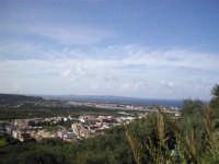 Torregrotta vista dall'alto con sfondo su Milazzo.  - Torregrotta (7322 clic)