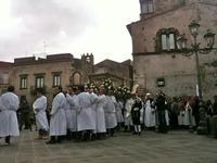 Processione del sabato santo U Signuri 'ndo Catalettu  - Randazzo (4129 clic)