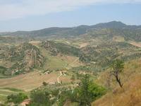 Panorama della campagna leonfortese con il monte Altesina (2292 clic)