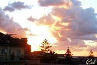 Altro tramonto di aprile   - Torrenova (1307 clic)