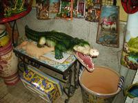 Coccodrillo in ceramica   - Santo stefano di camastra (5291 clic)