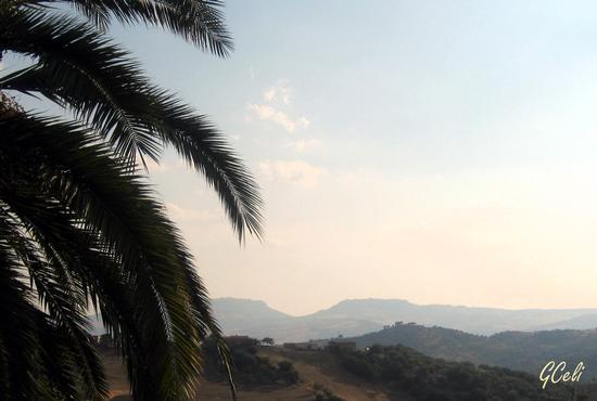 Enna e Calascibetta dalla Granfonte - LEONFORTE - inserita il 26-Jul-13