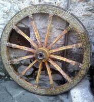 Ruota Carretto siciliano   - Taormina (2245 clic)