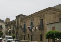Palazzo Branciforti e Campanile chiesa Madre   - Leonforte (1726 clic)