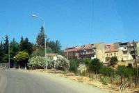 Entrata del paese da Agira   - Nissoria (2220 clic)