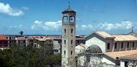 Chiesa SS Pietro e Paolo e Eolie sullo sfondo   - Torrenova (1632 clic)