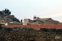 Santa Croce (in alto a sx) dalla chiesa dei Cappuccini   - Leonforte (1302 clic)