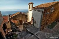 Scorcio Uno dei più bei borghi d'Italia  - San marco d'alunzio (17636 clic)