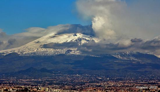 Panoramica sull'Etna - SIMETO - inserita il 27-May-13