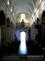 Basilica Chiesa Madre di Santa Margherita V.M Interno della Chiesa Madre di Santa Margherita a Licodia Eubea.  - Licodia eubea (3637 clic)